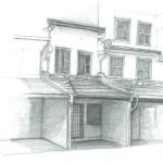 Malacca, in super quick sketches.