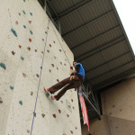 Wall Climbing, First Week of College and Blogging. PHEW!